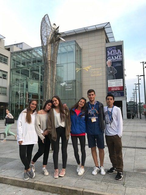 Residencia para jóvenes en Dublín