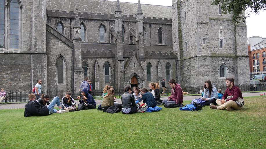 Curso en Irlanda en agosto