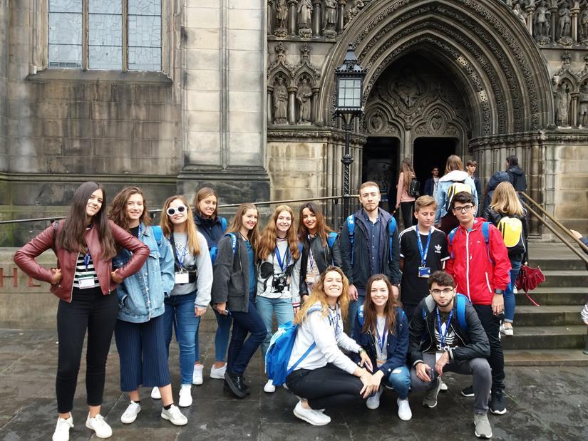 Inglés en Edimburgo para niños