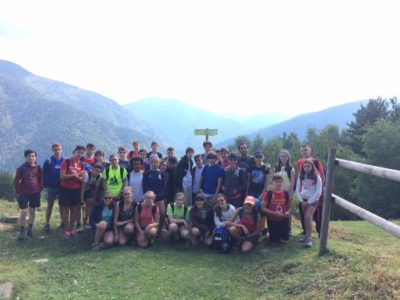 camp en Pirineos