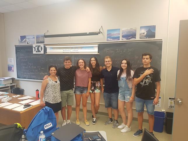 Inglés en Ottawa para jóvenes
