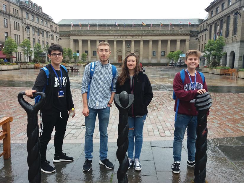 Curso en Edimburgo para niños