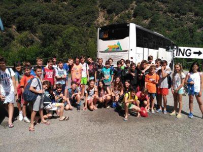 Campamento en Pirineos