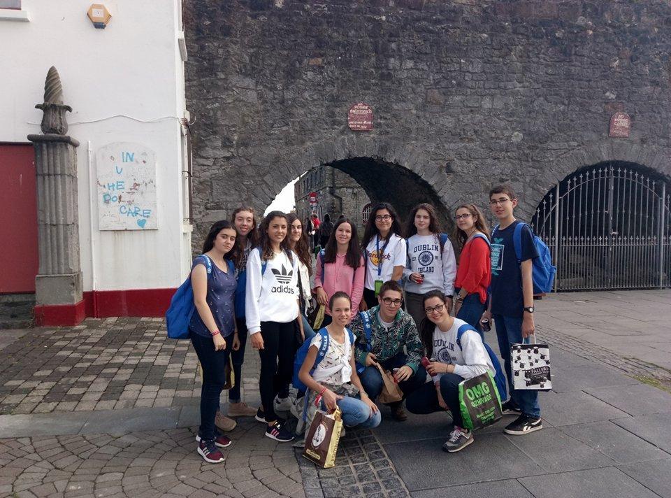 Curso en Galway para jóvenes
