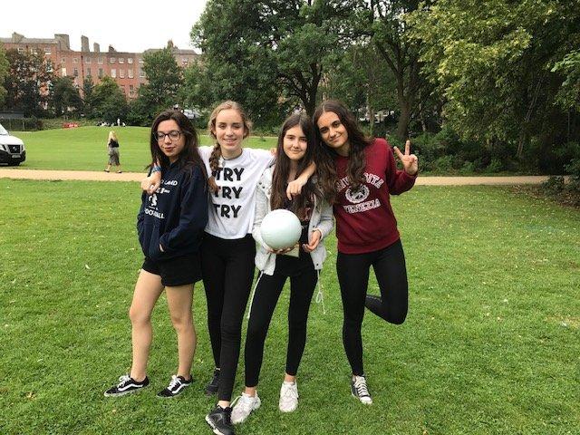 Curso en Dublín para jóvenes