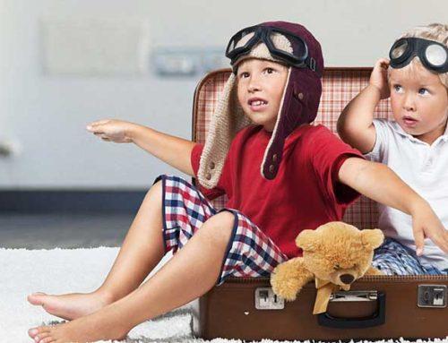Viajar al extranjero desde pequeños