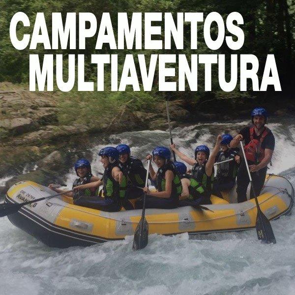 campamento verano aventura