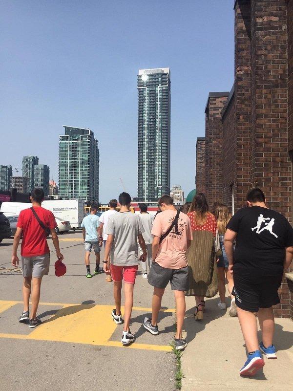 estancia en Toronto