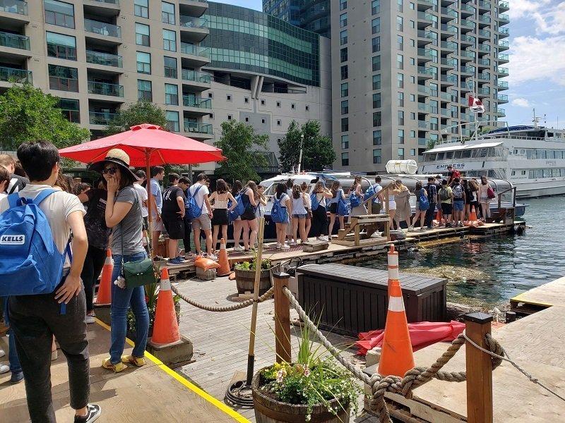 inmersión en Toronto