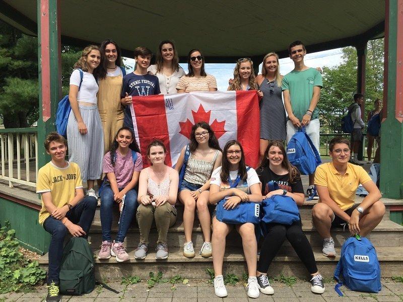 verano en Canadá inglés