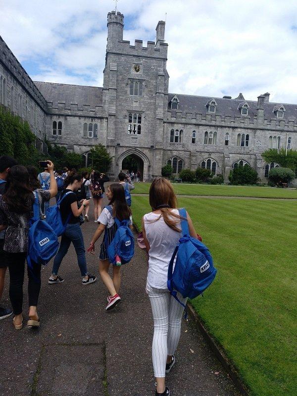 inmersión cultural en Cork