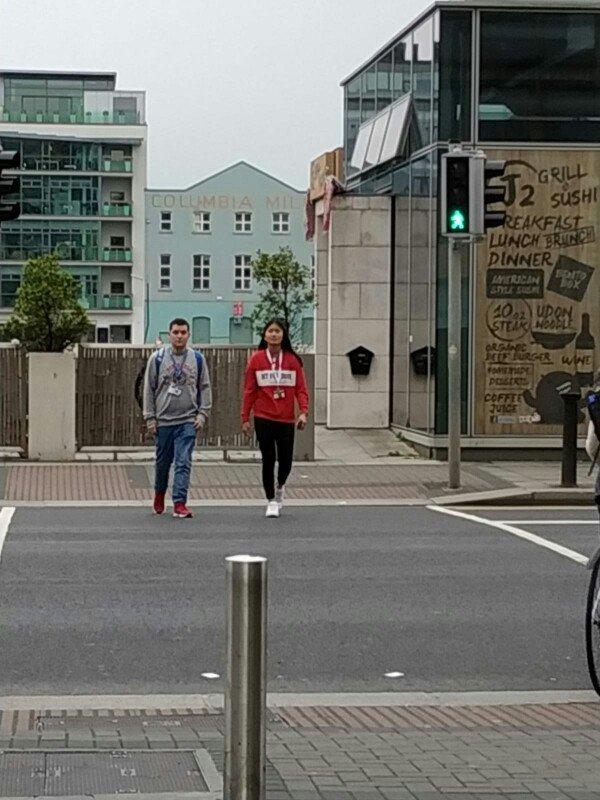 estancia en Dublín