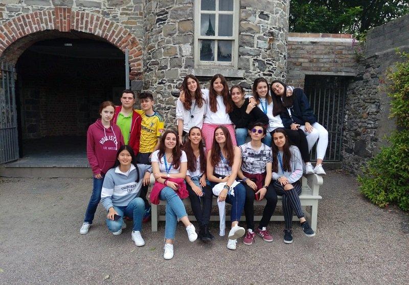 curso jóvenes en Dublín