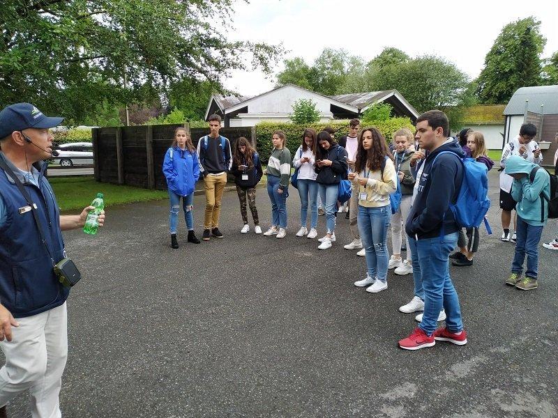 inglés en Dublín jóvenes