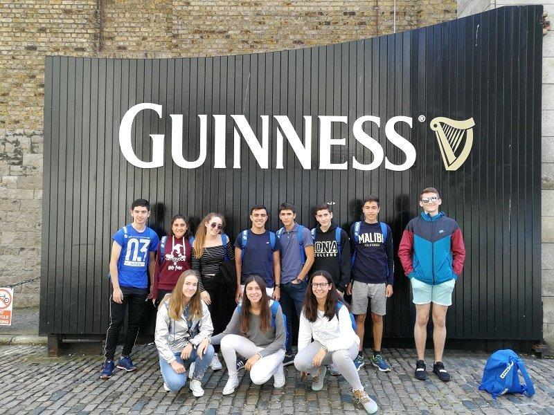 curso intensivo en Dublín