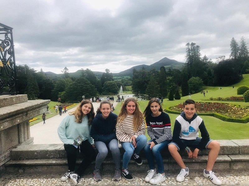 verano inglés en Irlanda