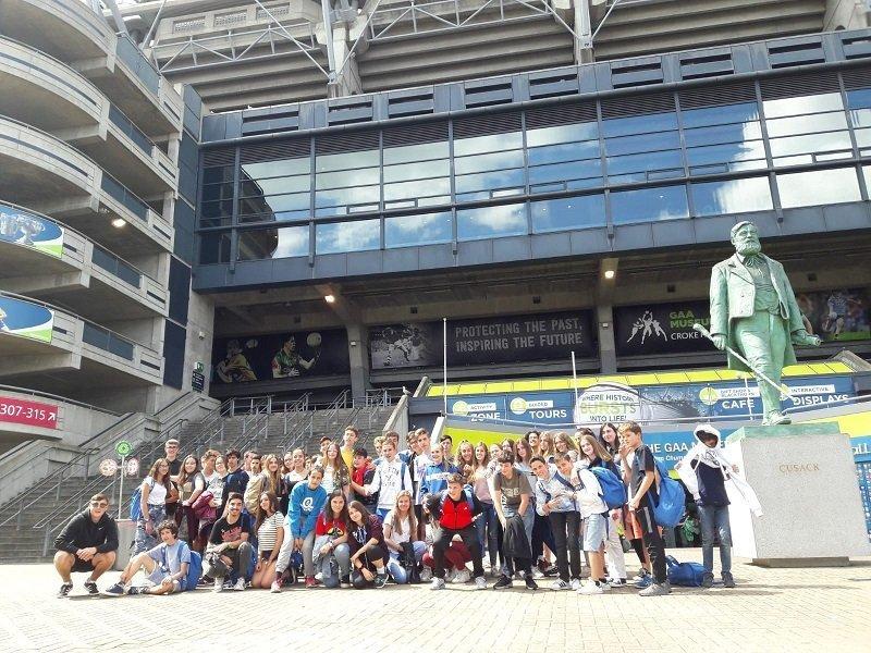 inglés para jóvenes en Dublín