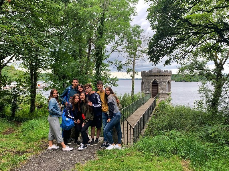 inmersión cultural en Galway