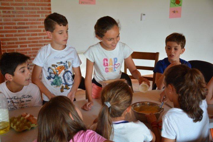 campamento de verano en inglés