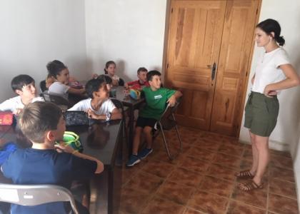 Campamentos de inglés