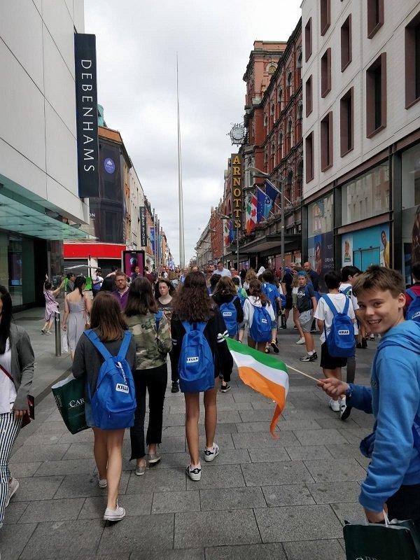 viaje de verano a Irlanda