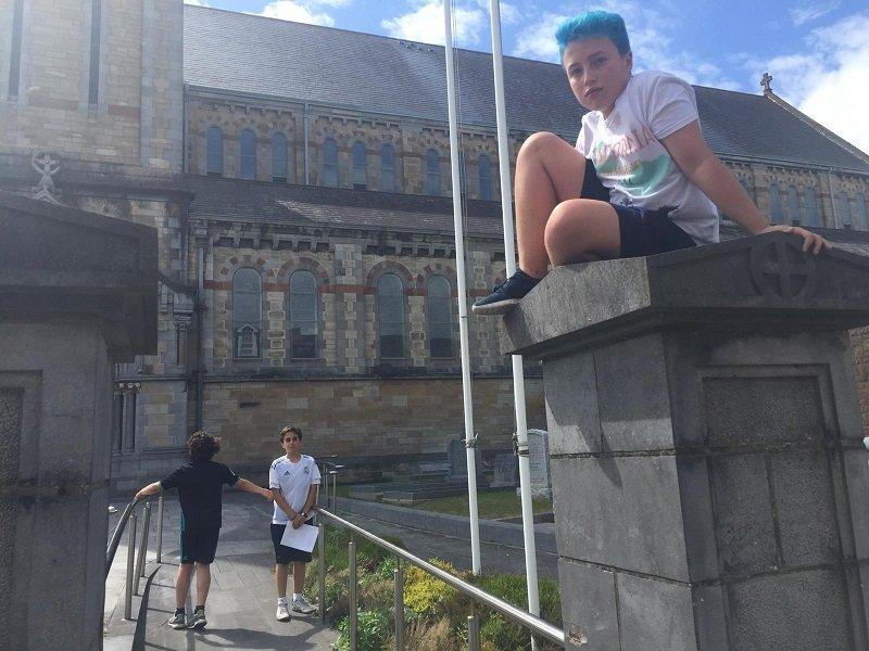 inglés para niños en Irlanda