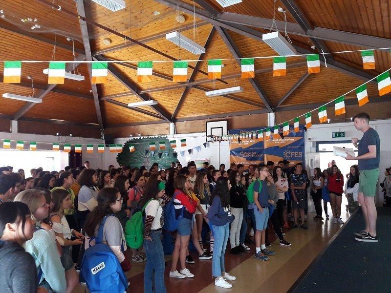 curso para niños Irlanda
