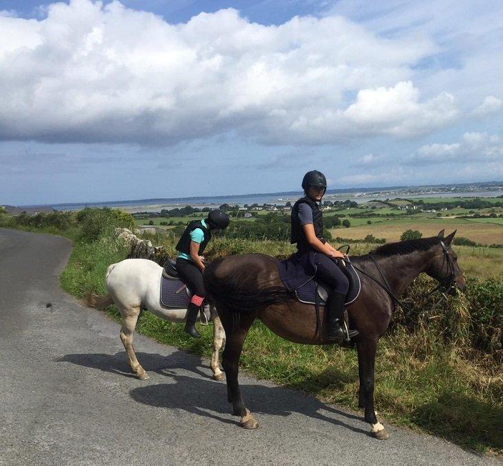 equitación para niños en Irlanda