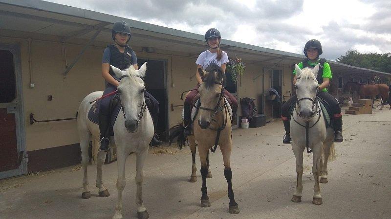 montar a caballo en Irlanda