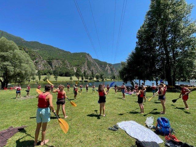 Campamento en Inglés España