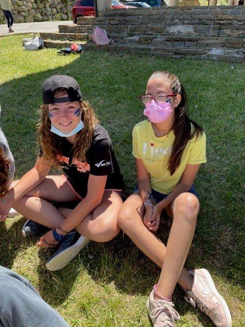 Campamento para jóvenes en España