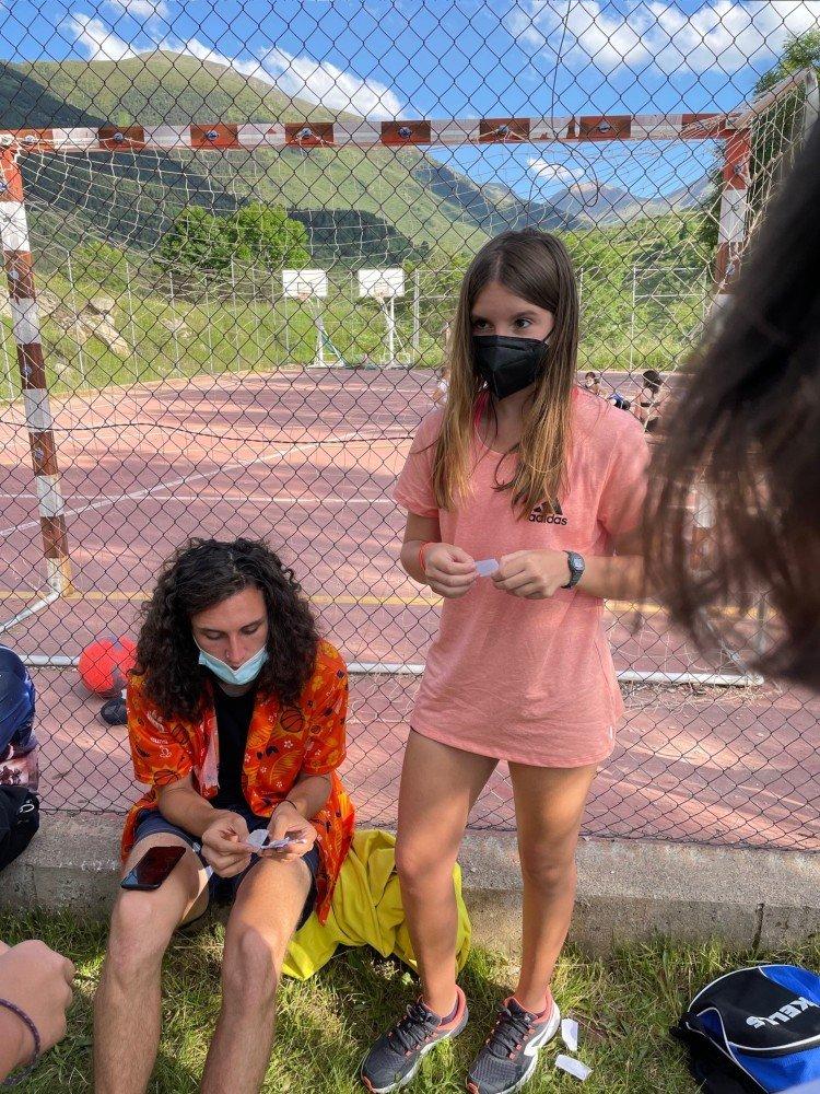 Verano campamento en Inglés